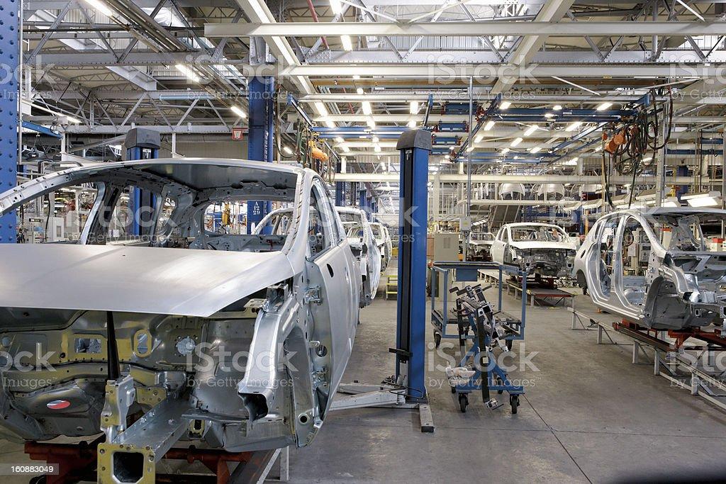 Car Production stock photo