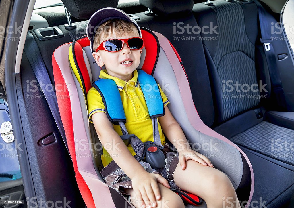 Car protection. I am ready for the summer trip. stock photo