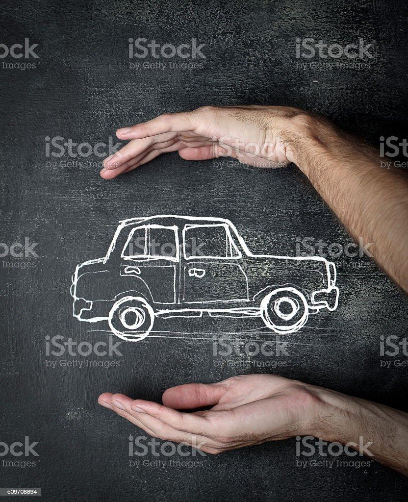Car Protection stock photo
