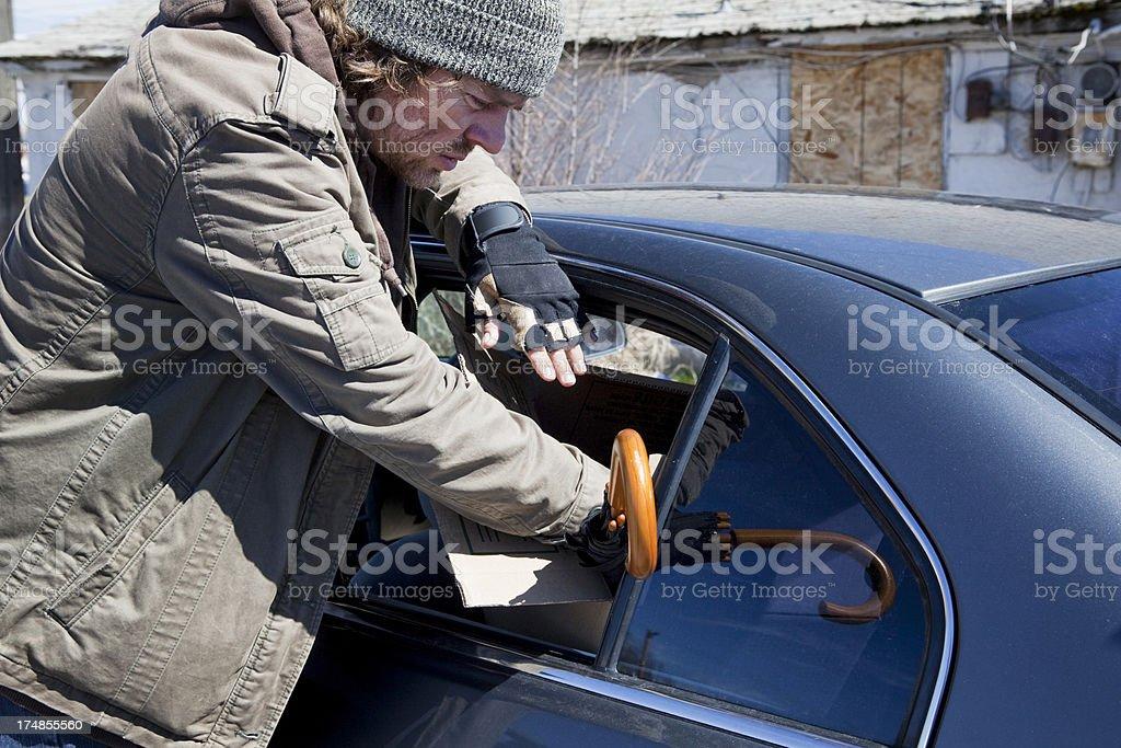 Car Prowler stock photo