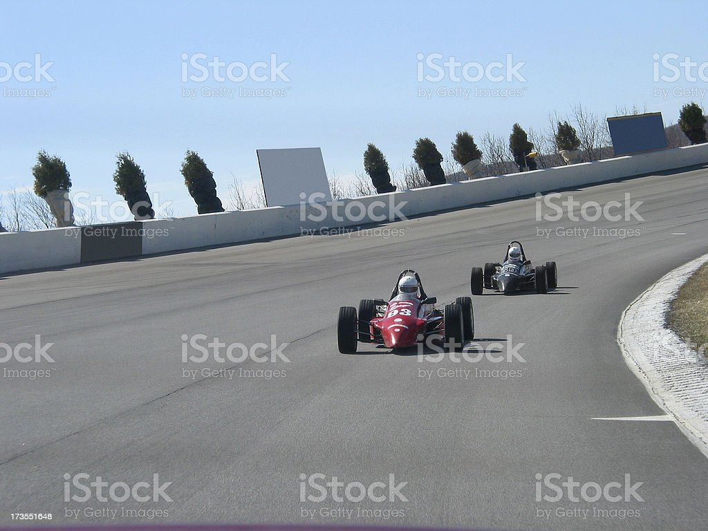Car Racing - Forumla Style royalty-free stock photo