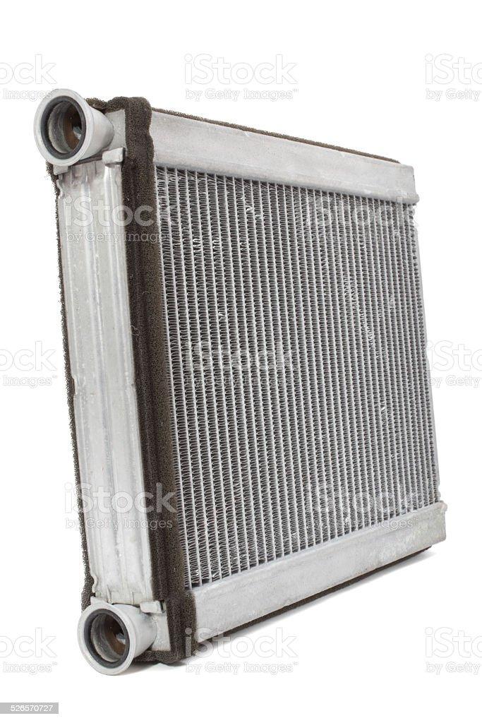 car radiator heater stock photo