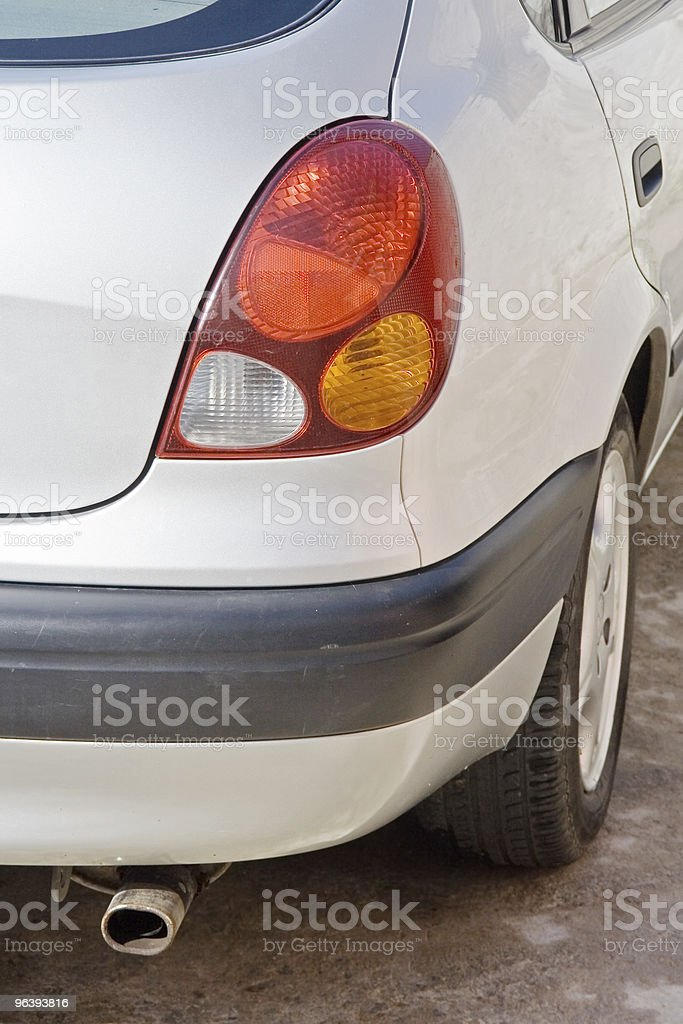 Car Rear Right royalty-free stock photo
