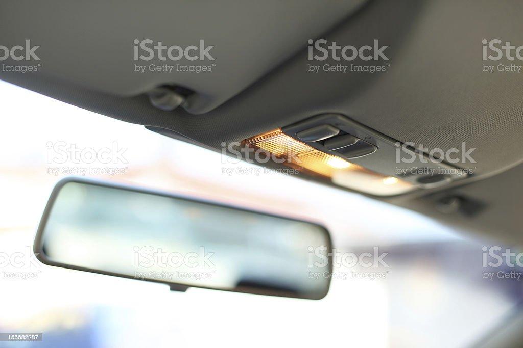 Espejo retrovisor de foto de stock libre de derechos