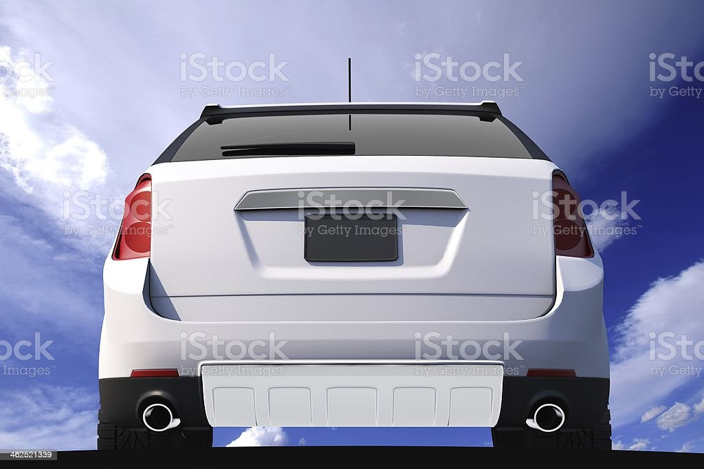 Car Rear View stock photo