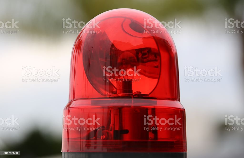 Car Red Light stock photo