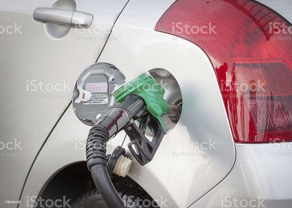 Car refuel royalty-free stock photo