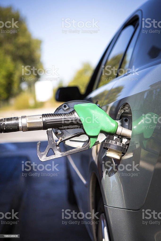 car refuel stock photo