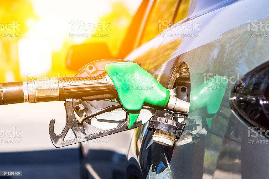 Car refuel. stock photo