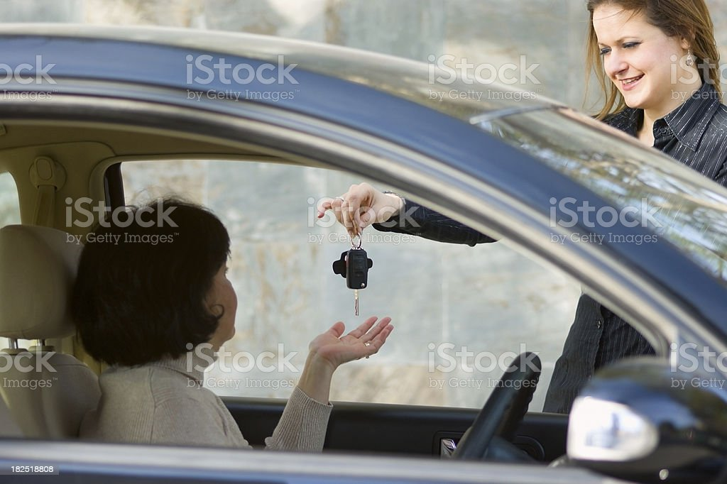 Car Rental royalty-free stock photo