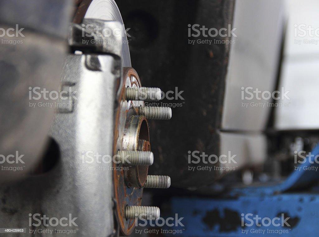 Car repair royalty-free stock photo