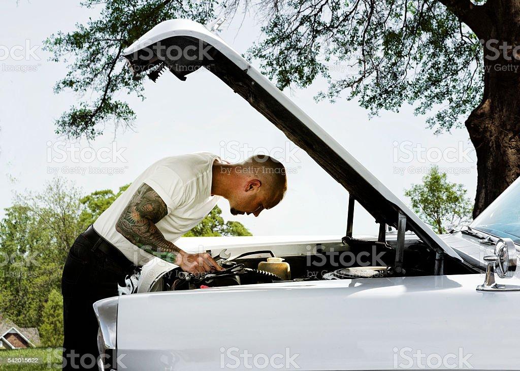 Car Repair stock photo