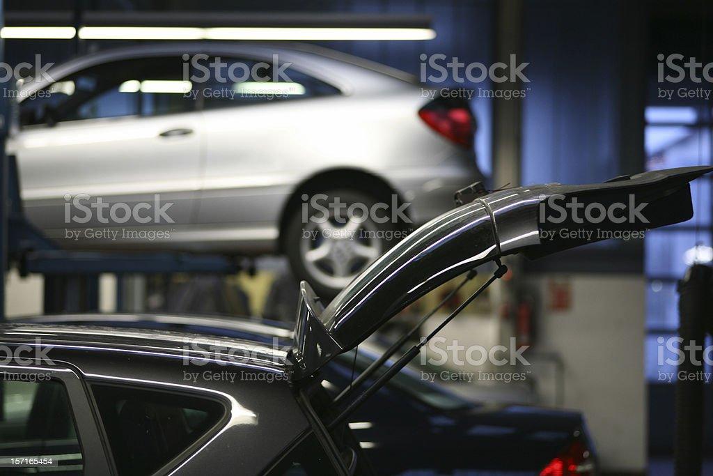 Car repair shop royalty-free stock photo