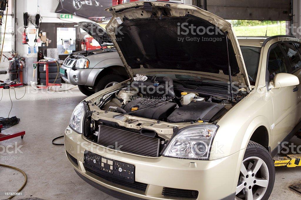Car Repair Shop stock photo