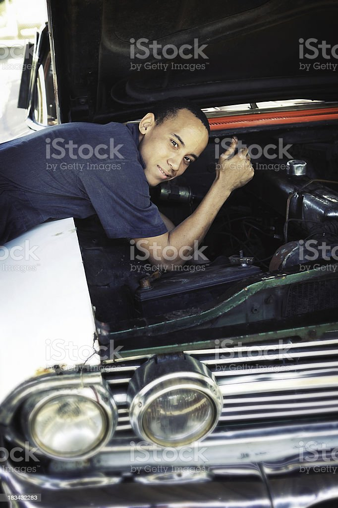 Car Repairer stock photo