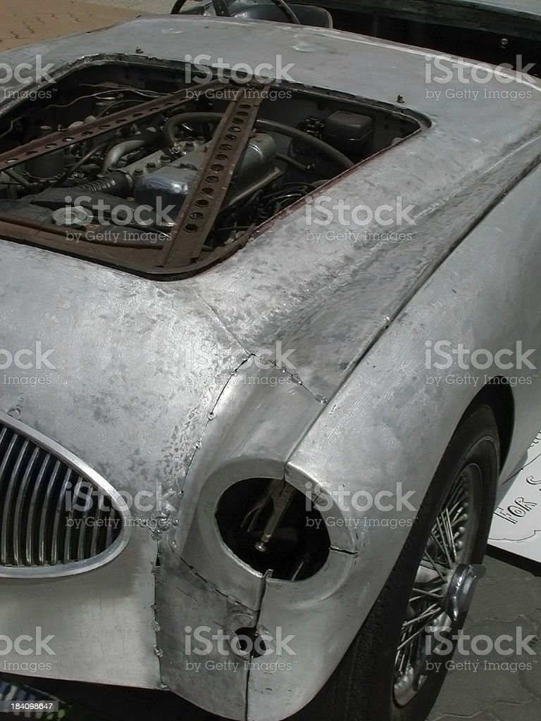 Car restoration royalty-free stock photo