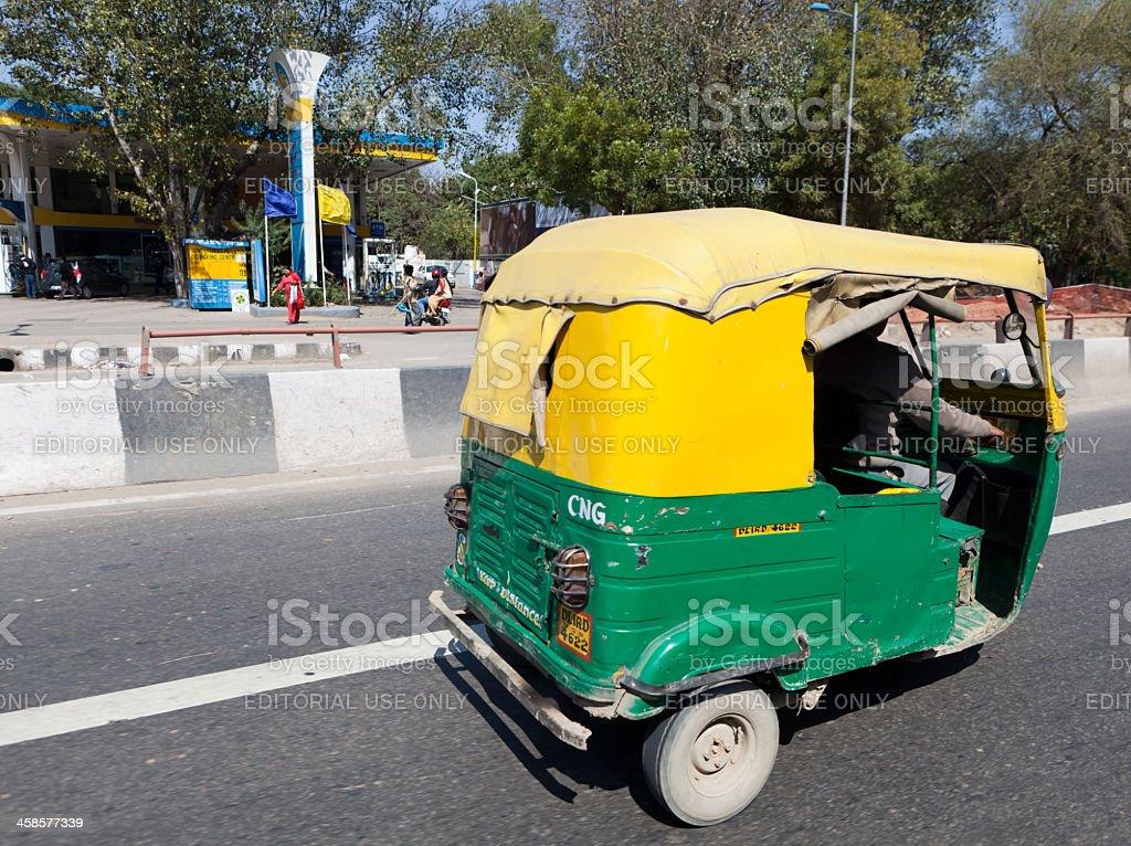 Car Rickshaw royalty-free stock photo