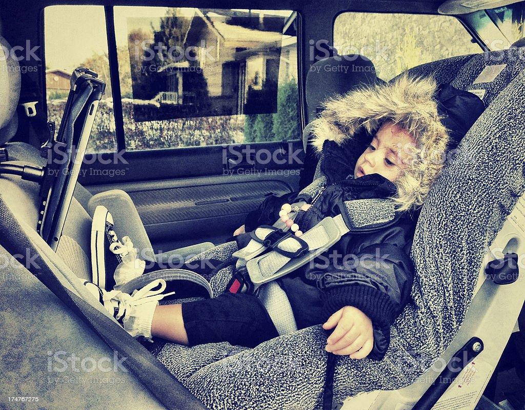 Car Ride royalty-free stock photo