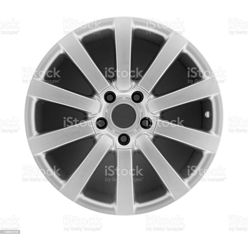 Car Rim Series royalty-free stock photo