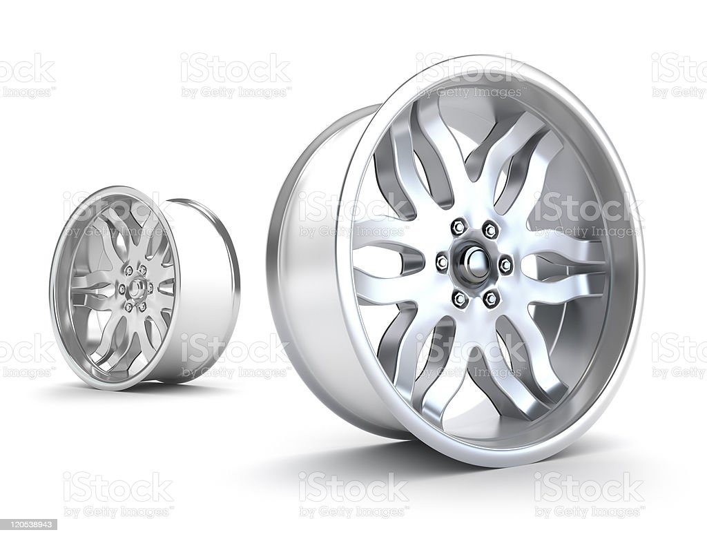 Car rims concept royalty-free stock photo