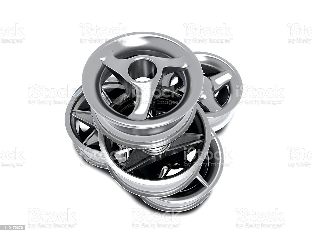 car rims royalty-free stock photo