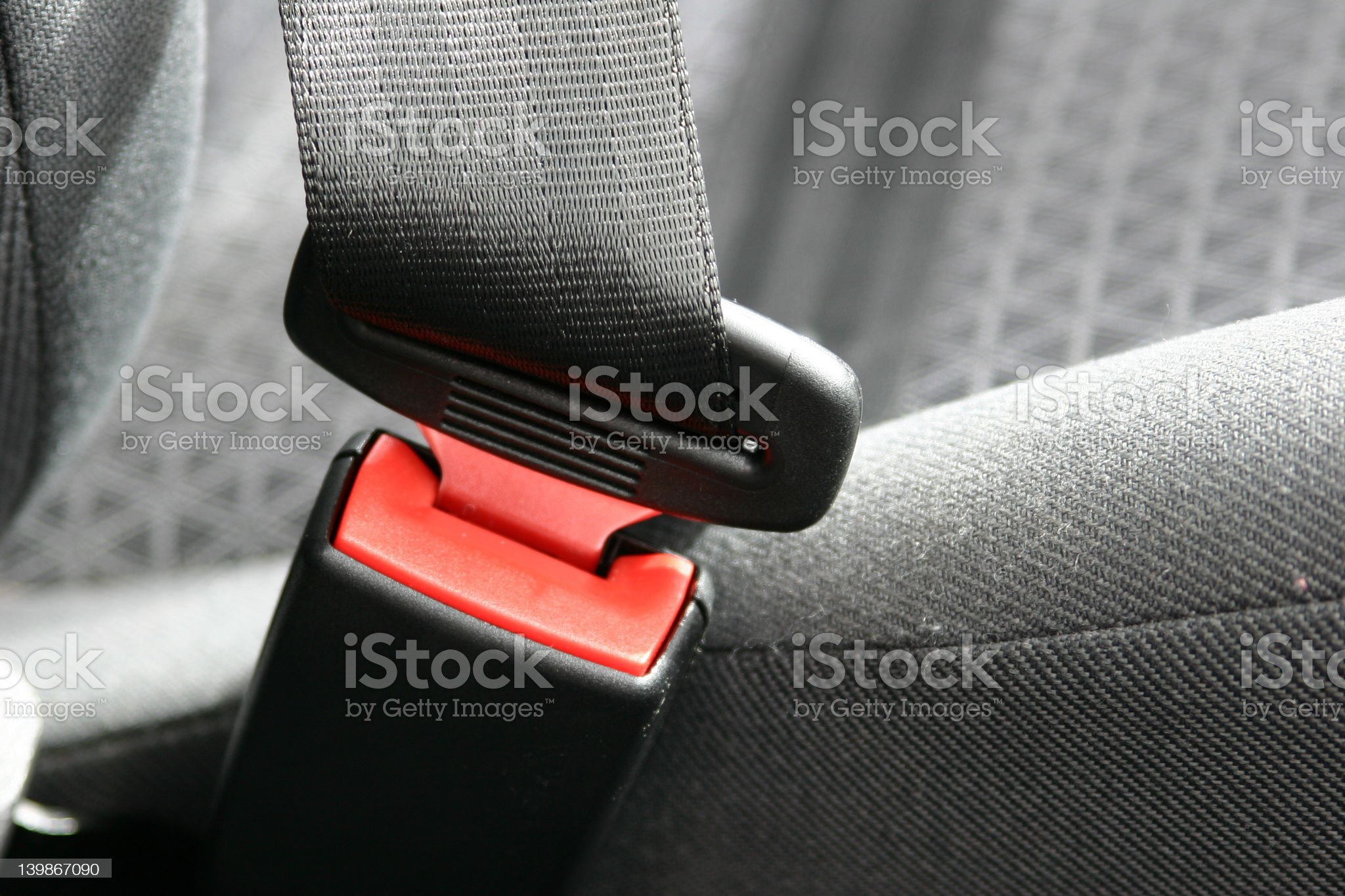 Car Safety Restraint royalty-free stock photo
