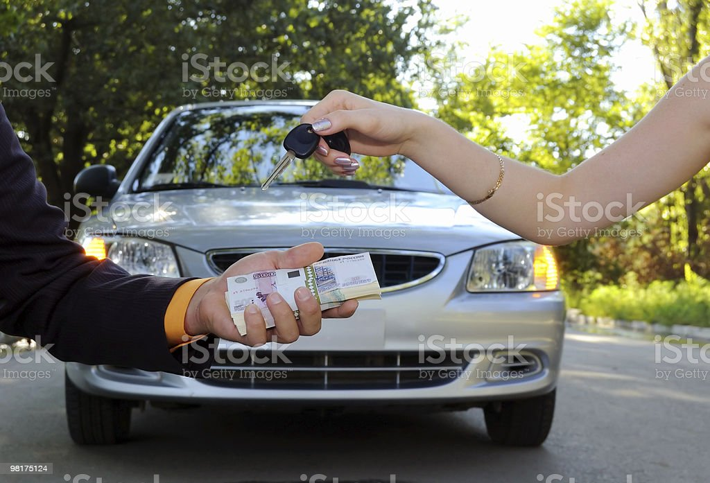Car sale royalty-free stock photo