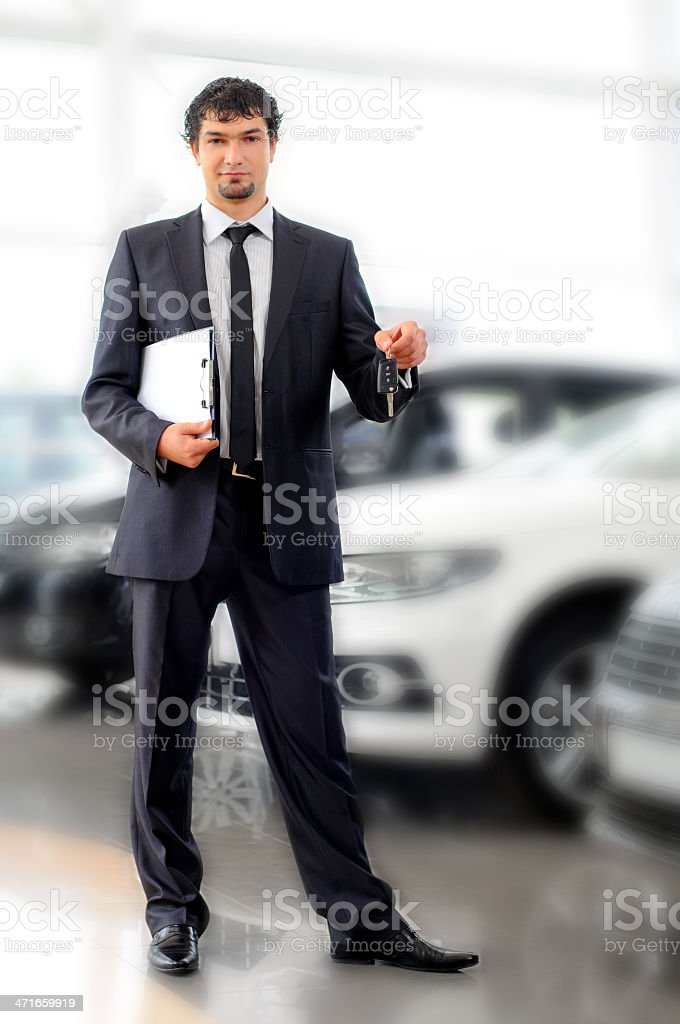 Car Sales royalty-free stock photo