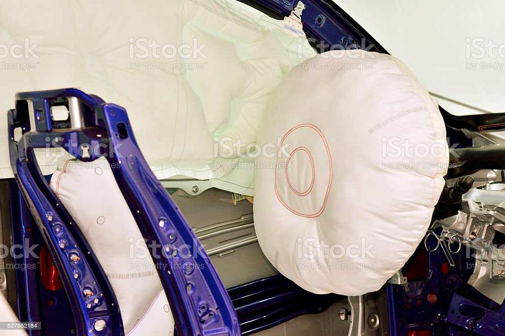 Car Seat Airbag stock photo