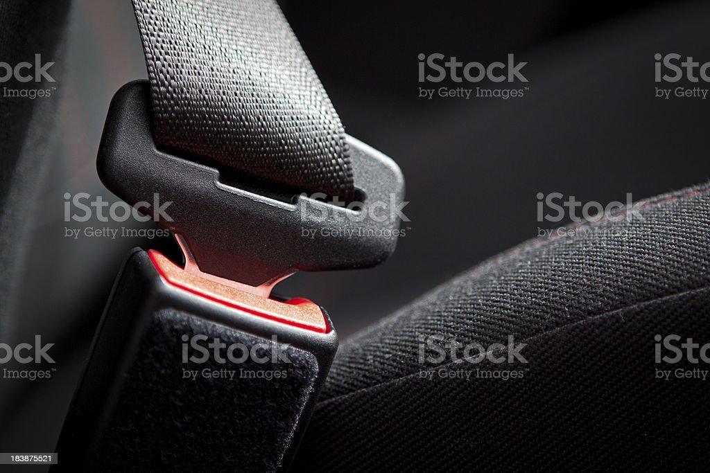 Car Seat Belt stock photo