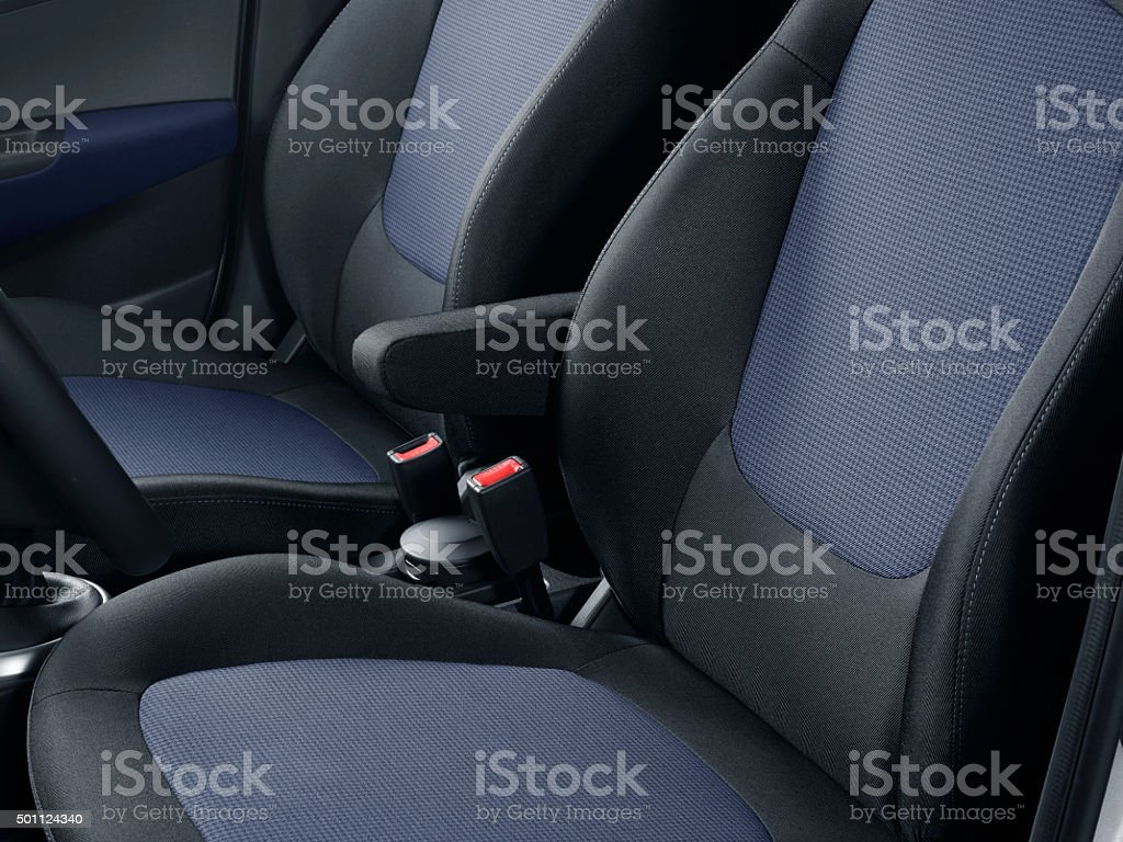 Car seat stock photo