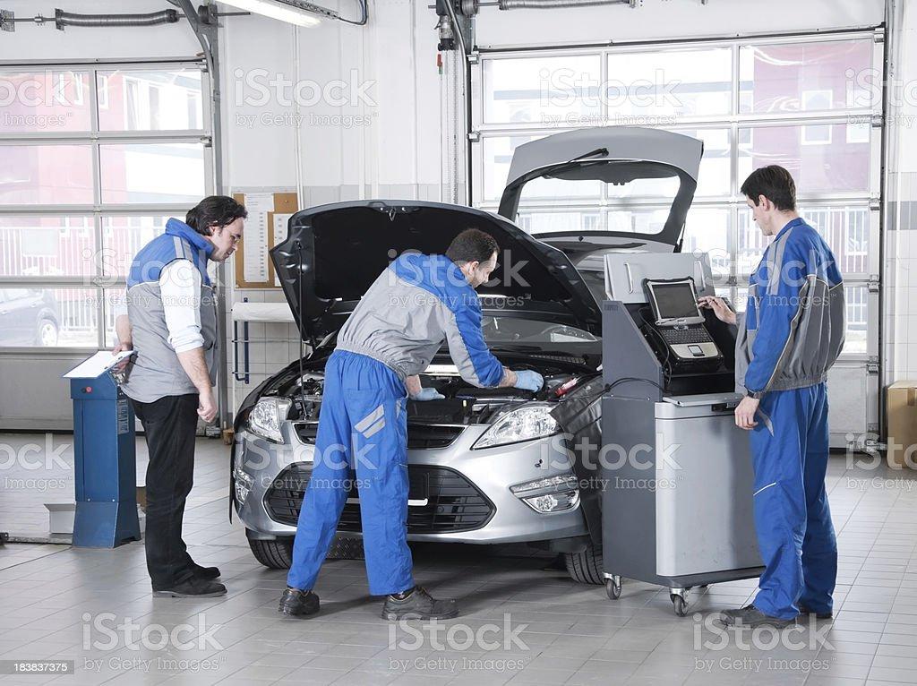 Car service. royalty-free stock photo