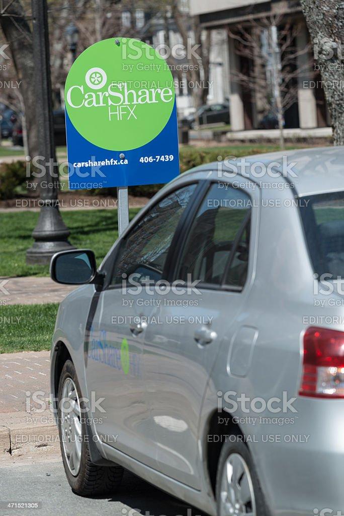 Car Share Halifax stock photo
