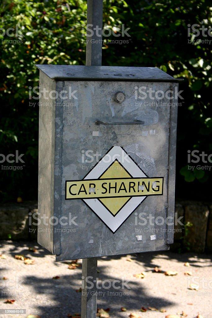 Car sharing royalty-free stock photo