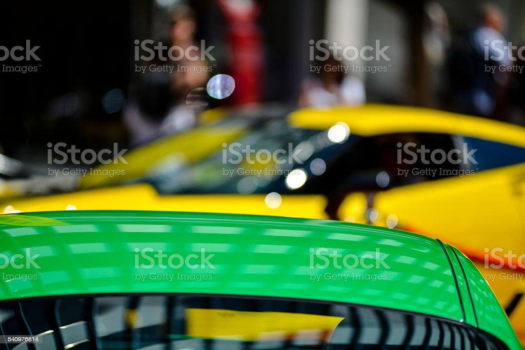 Car show in Toronto stock photo