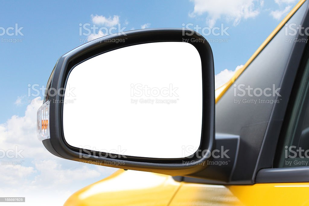 Car Side Mirror stock photo