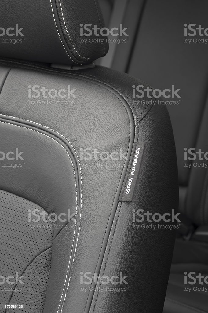 Car Side SRS Airbag stock photo
