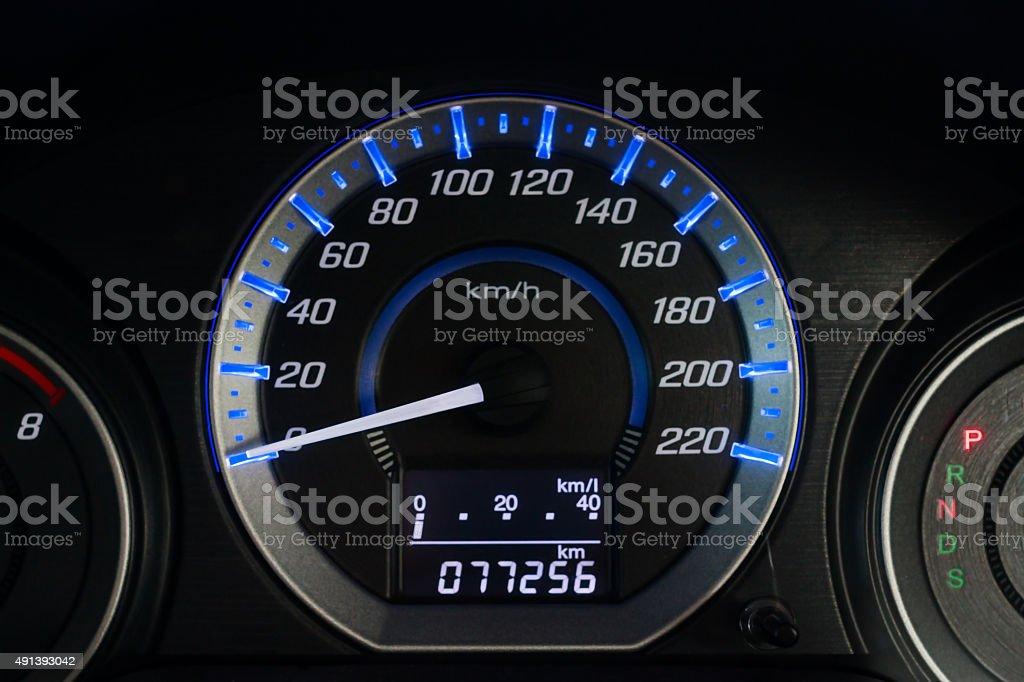 Car Speed Dashboard stock photo