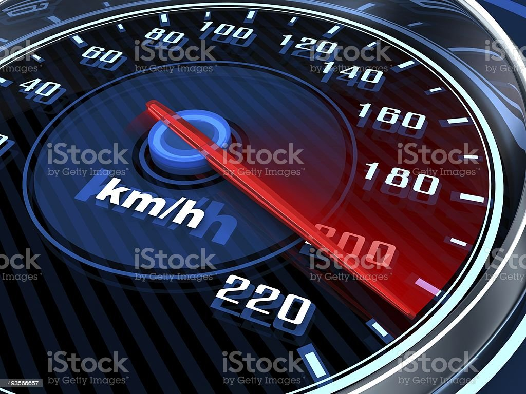 Car Speedometer stock photo