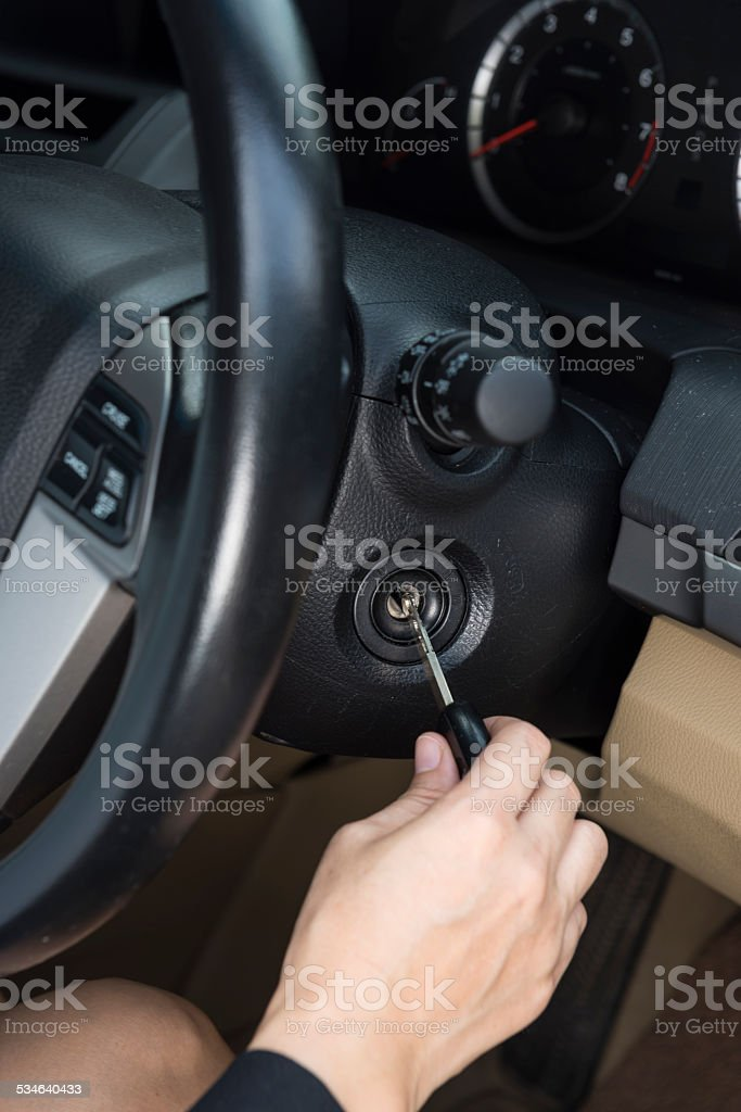 car Starter stock photo
