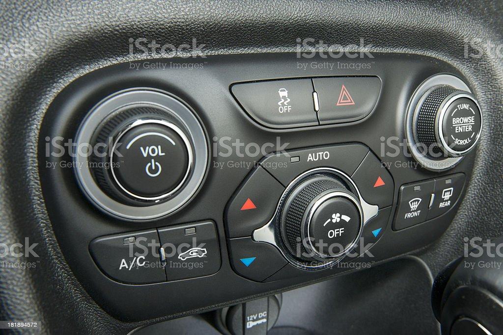 Car Stereo royalty-free stock photo