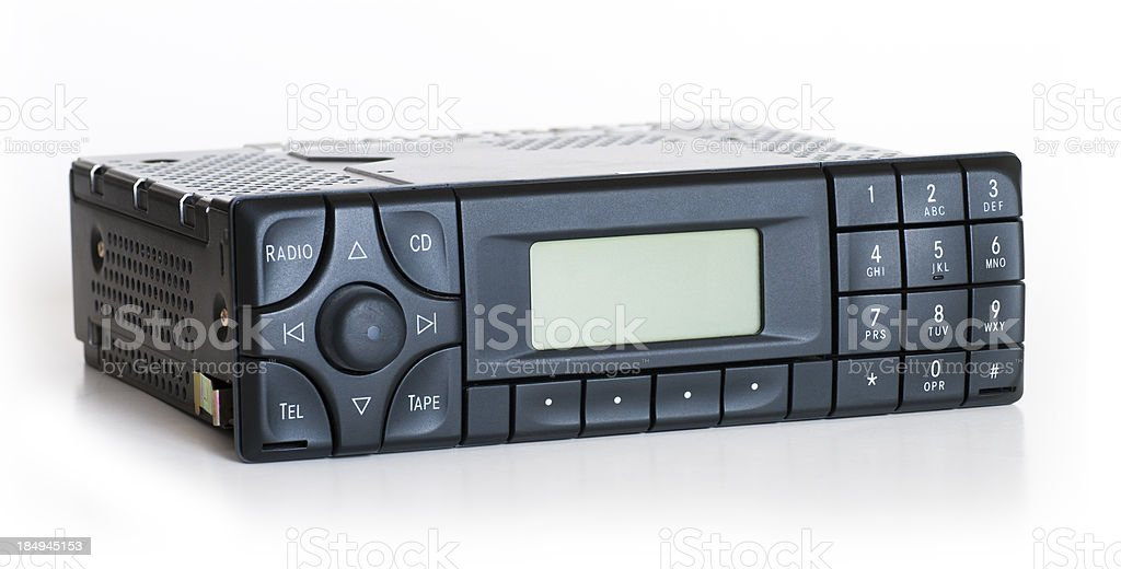 Car Stereo Unit royalty-free stock photo