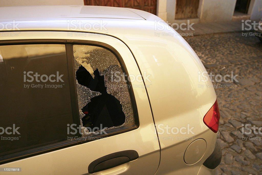 Car Theft royalty-free stock photo