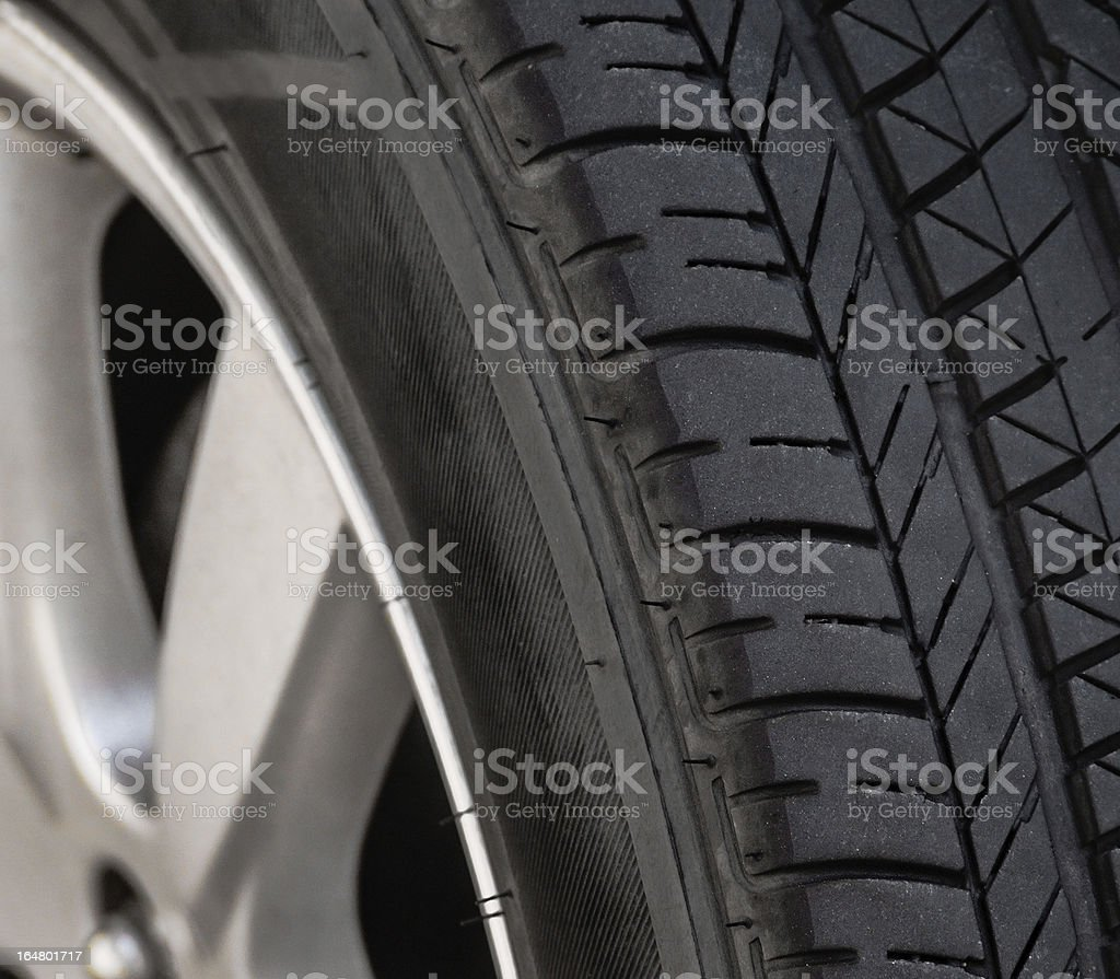 Car Tire Tread royalty-free stock photo
