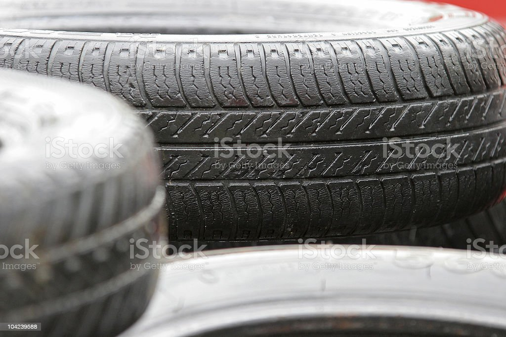 Car Tires royalty-free stock photo