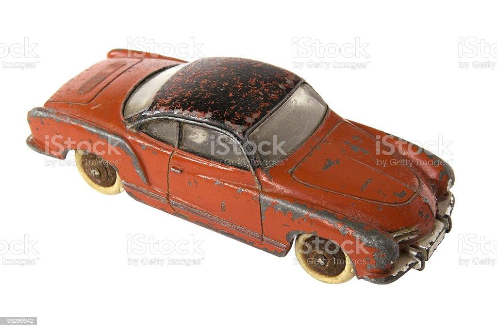 Car toy royalty-free stock photo