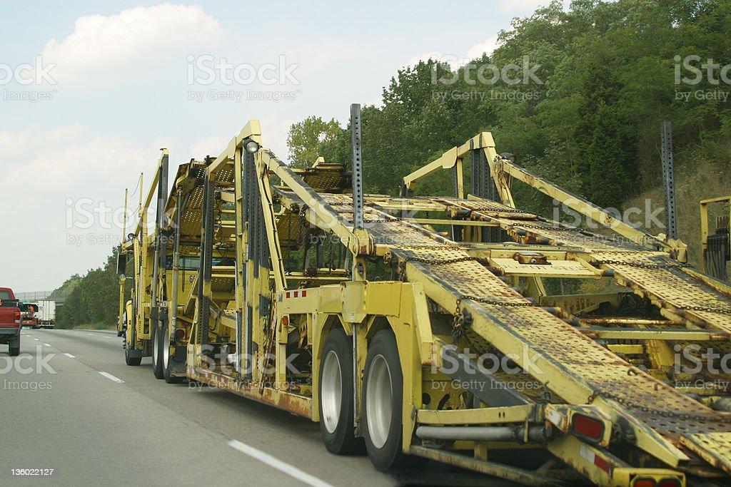 Car Transport royalty-free stock photo