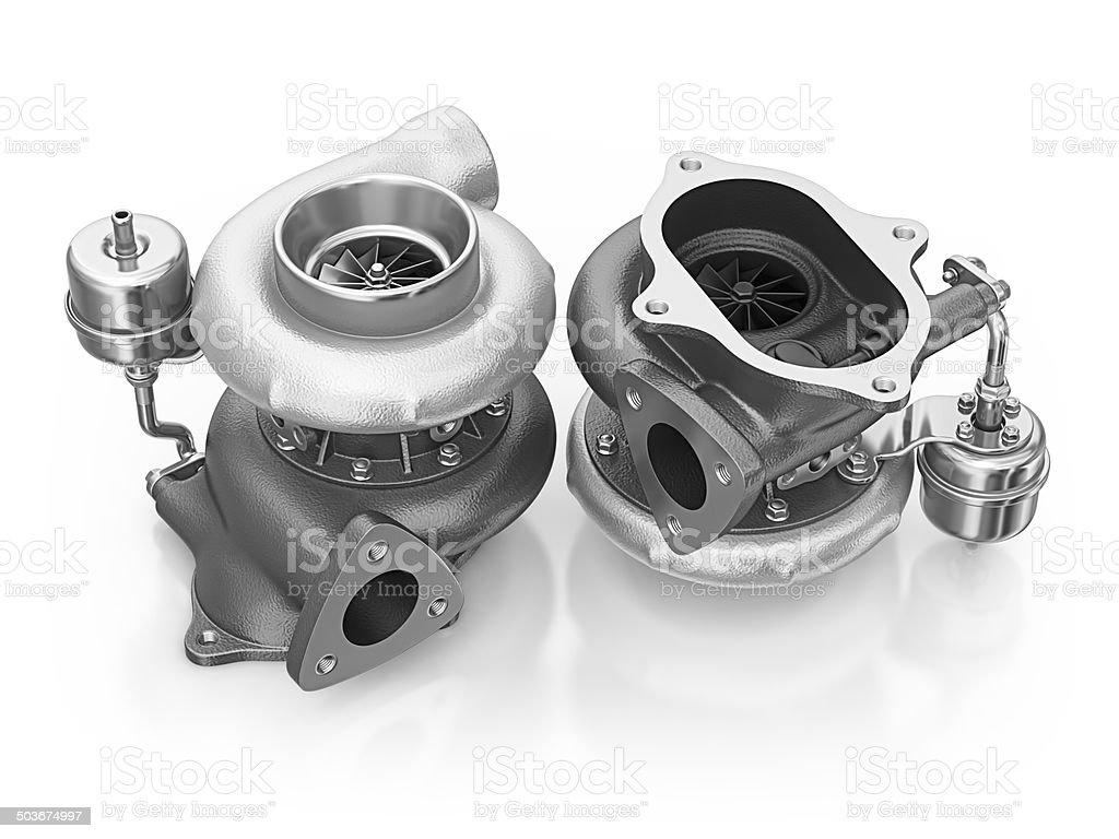 car turbines royalty-free stock photo
