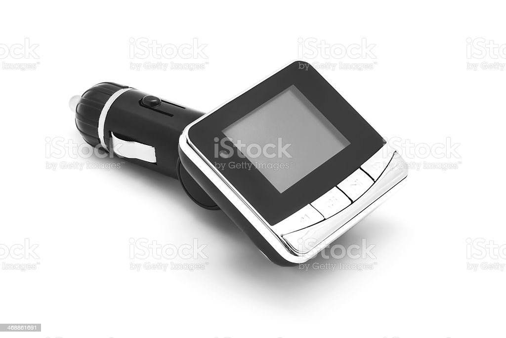 car usb music player stock photo