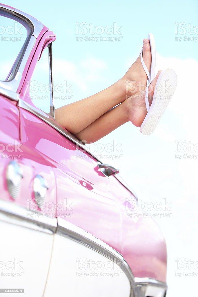 Car vacation holiday road trip royalty-free stock photo